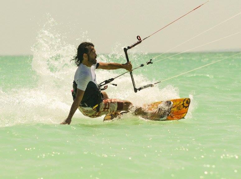 holbox kite water joy